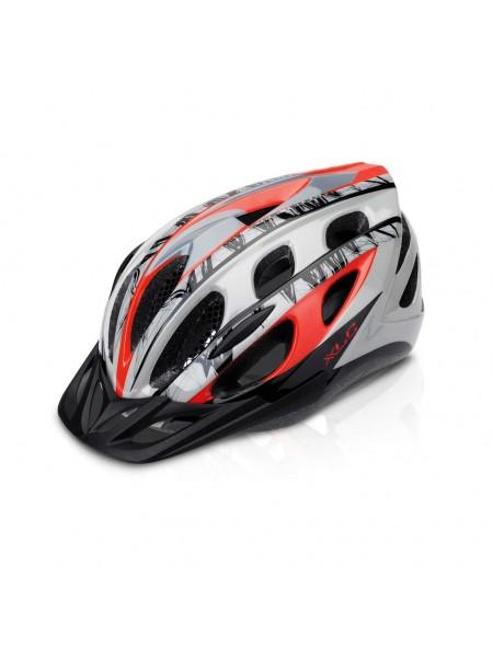 Шлем XLC BH-C18, красно-серый, S/M (51-56)